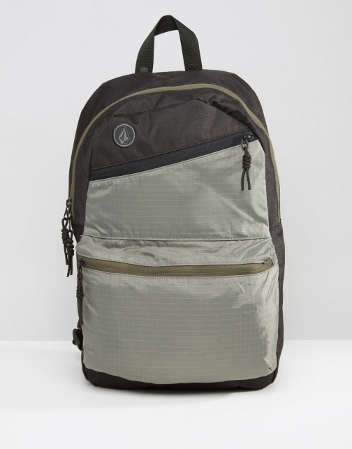 Volcom Academy Heather Black Backpack