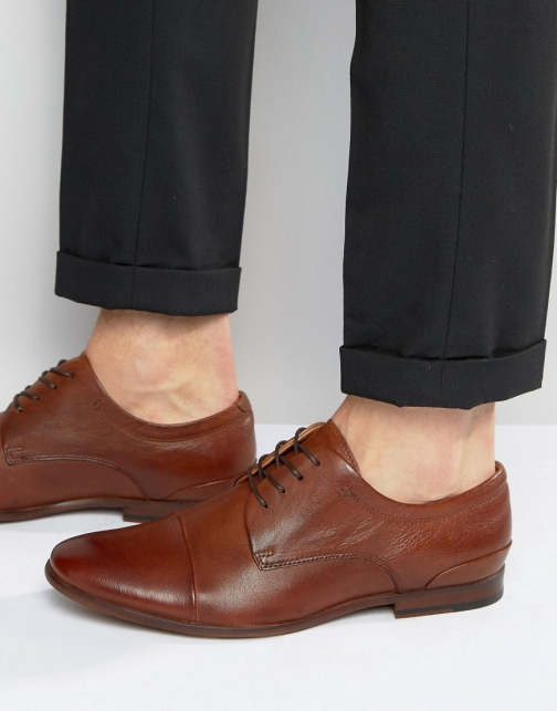 Aldo Sagona Leather Derby Shoes