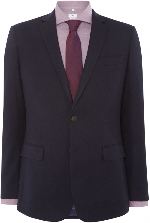 Richard James Mayfair Men's Richard James Mayfair Clean Navy Flannel Suit Jacket