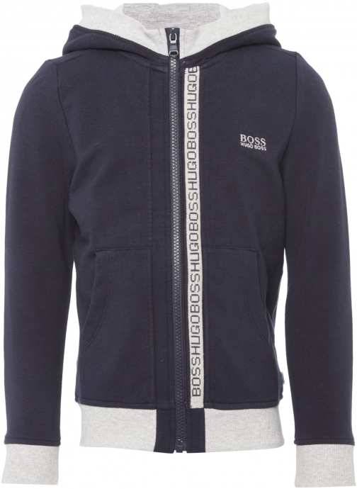 Hugo Boss Boys Cotton Hoody Fleece