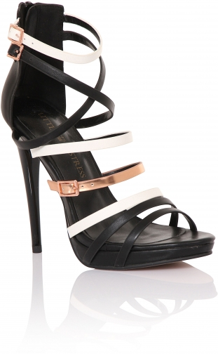 Little Mistress Multi Strap Platform