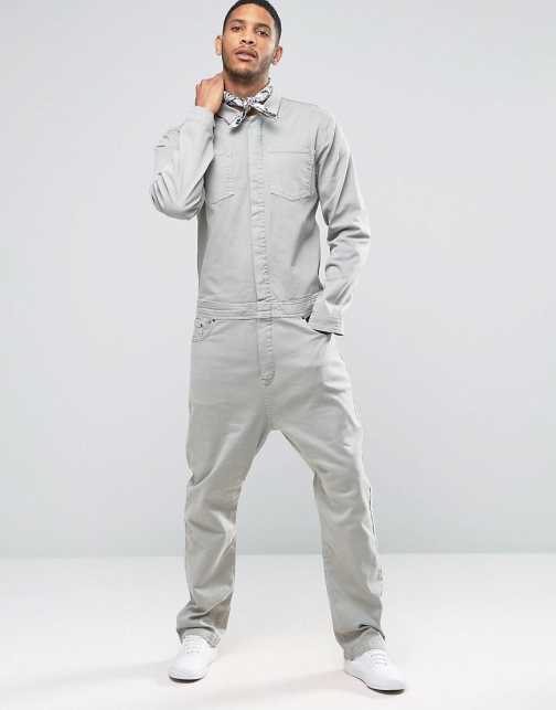 Asos Boiler Light Khaki Suit