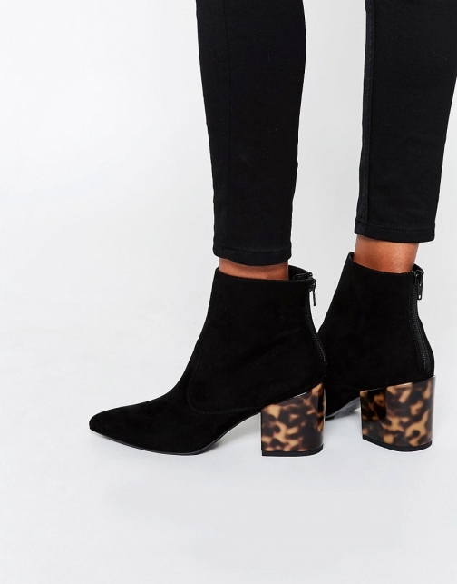 Asos REACH Pointed Ankle Boot