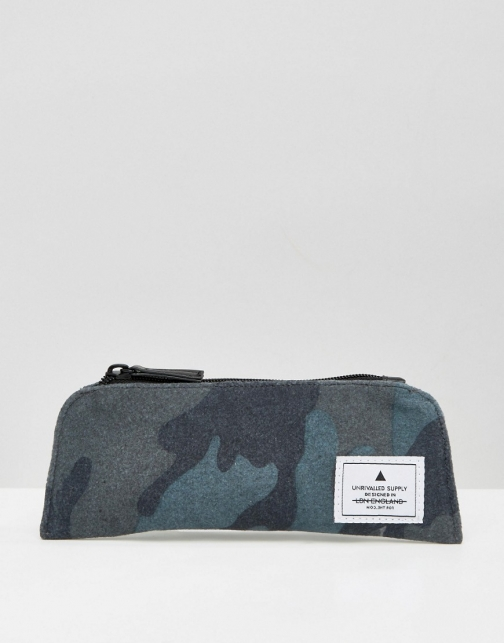 Asos Pencil Camo Melton Case