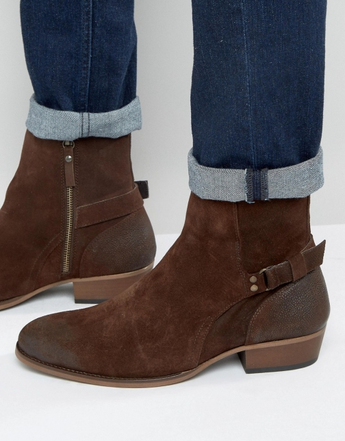 House Of Hounds Steele Suede Jodphur Boot