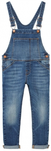 Mango Girls Medium Denim Dungaree
