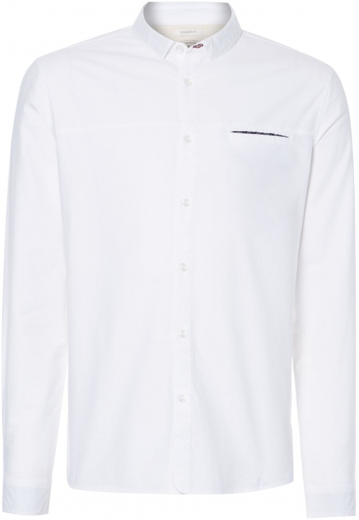 Linea Men's Linea Vitto Plain Oxford Long Sleeved Shirt