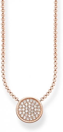 Thomas Sabo Glam & Soul Sparkling Circles Necklace