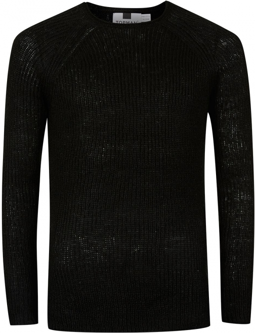 Topman Men's Topman Grunge Slim Fit Jumper