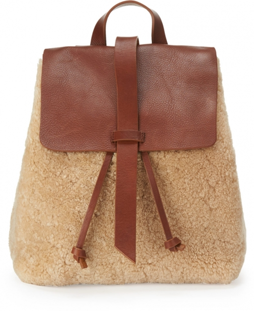 Jigsaw Blake Shearling Backpack