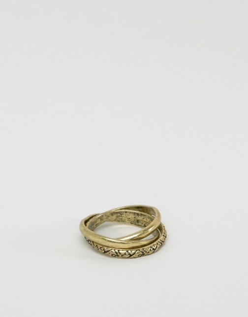 Asos Russian Wedding Gold Ring