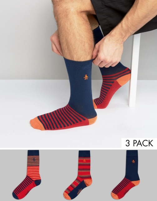 Original Penguin 3 Pack Gift Set Sock