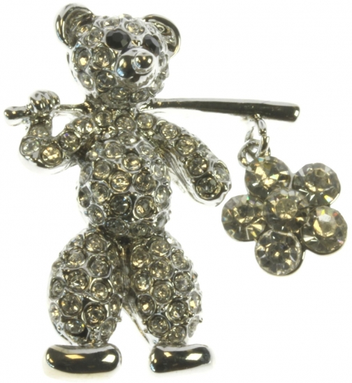 House Of Fraser Indulgence Teddy Brooch Jewellery