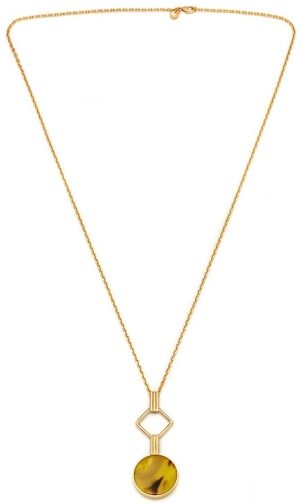 Lola Rose LRJ584159 Garbo Link Necklace Pendant