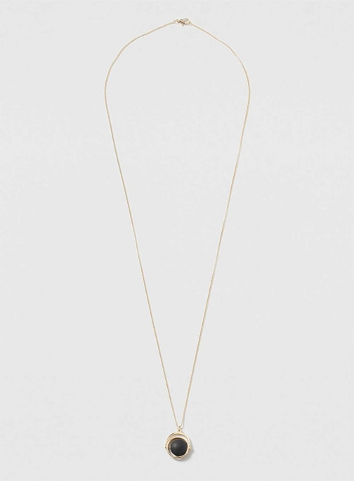 Dorothy Perkins Womens Black Spinning - Black Necklace