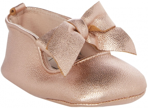 House Of Fraser Carrement Beau Baby Girls Iridescent Ballerina Shoes