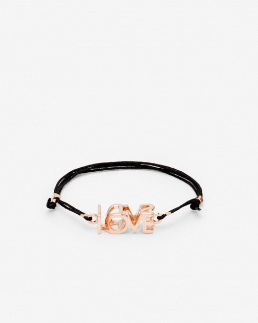 Ted Baker LOVE/KISS Rose Gold Bracelet
