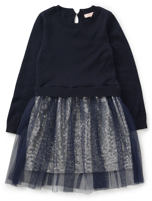 Jigsaw Girls Sequinned 2--1 Dress