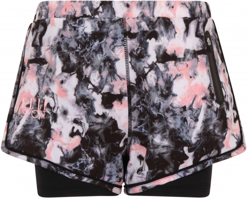 Elle Sport Printed Woven With Inner Capri Short