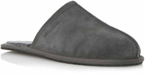 Dune Men's Dune Flintoff Warm Lined Mule Slipper