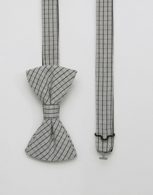 Original Penguin Grid Check Bow Tie
