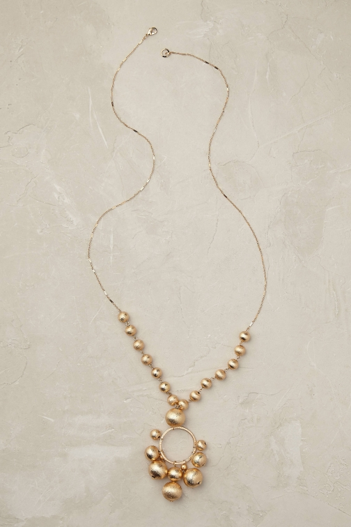 Anthropologie Montreux Bauble Necklace
