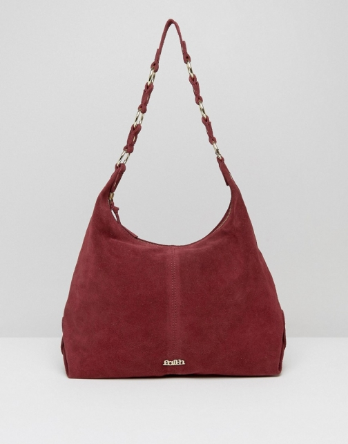 Faith Hobo Shoulder Berry Bag