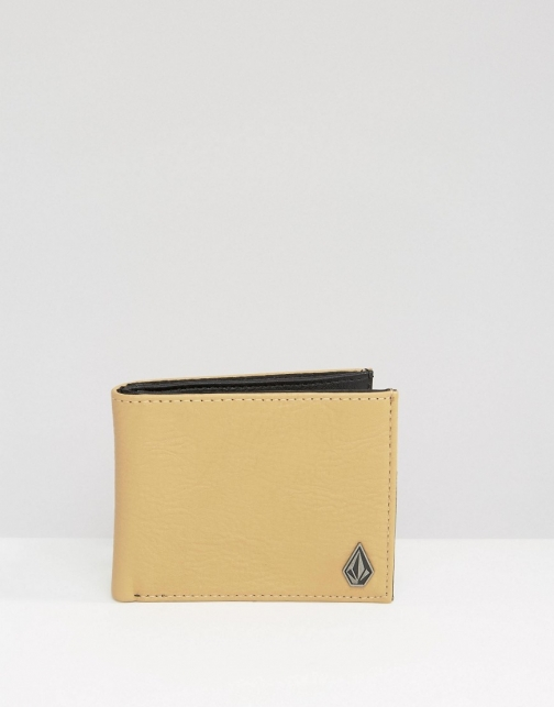 Volcom Slimstone Leather Look Wallet