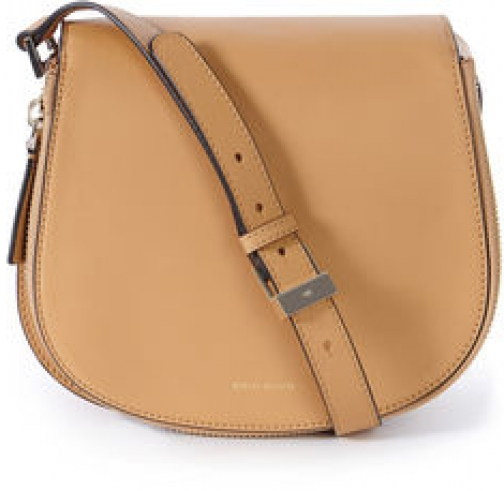 Karen Millen Structured Leather Satchel