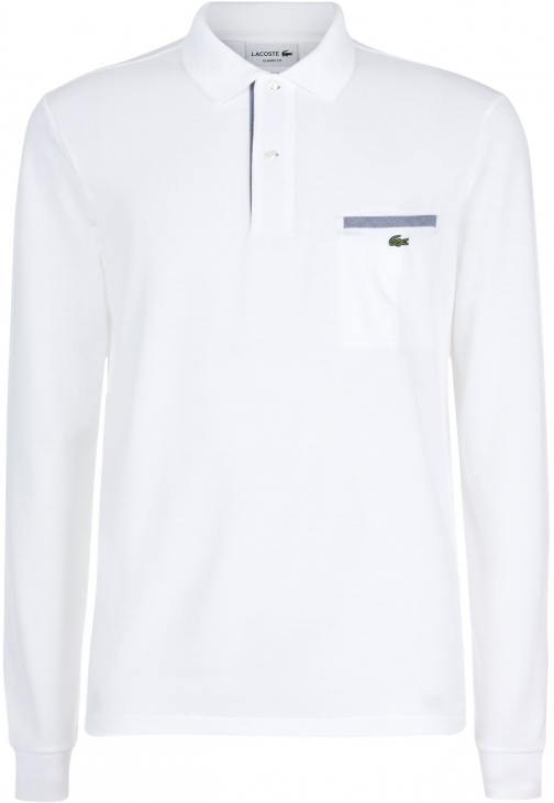 Lacoste Men's Lacoste Lacoste Contrast Pocket Shirt Polo