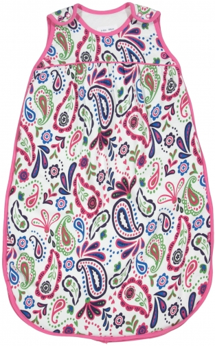 House Of Fraser Kite Baby Girls Paisley Sleeping Bag