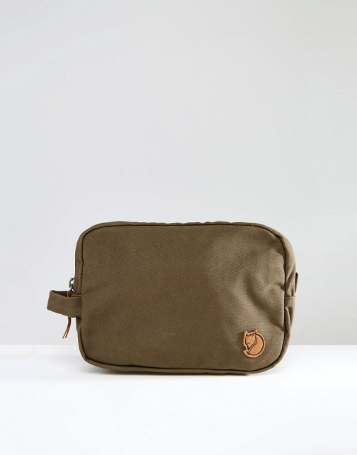 Fjallraven 2L Green Wash Bag