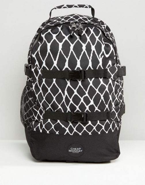 Cheap Monday Buckle Detail Backpack