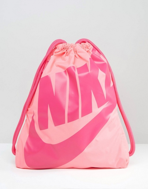 Nike Heritage Drawstring Pink BA5351-627 Backpack