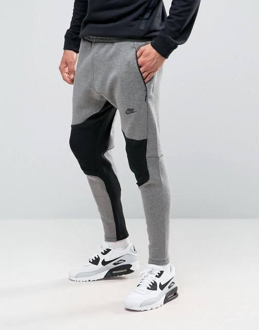 Nike Tech Joggers Grey 805658-063 Fleece