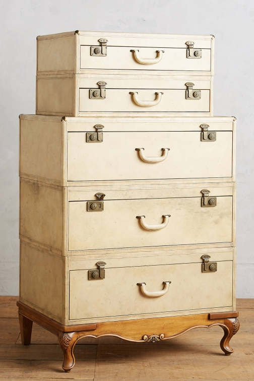 Anthropologie Expedition Five-Drawer Dresser Accessorie