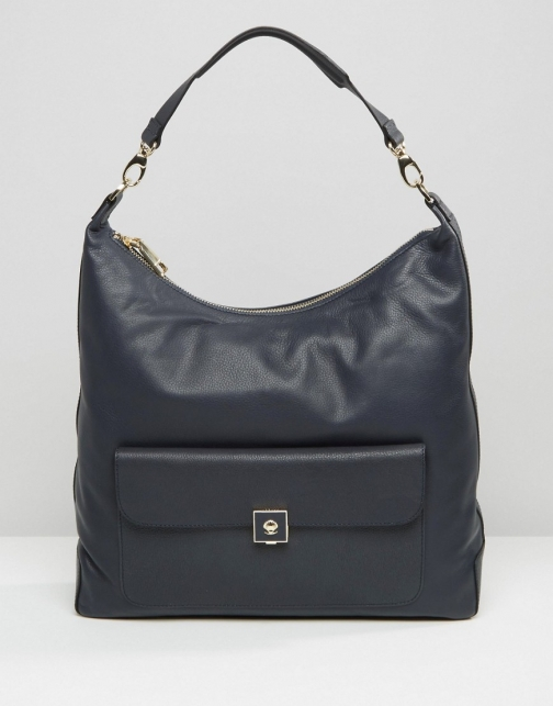 Modalu Leather Hobo Shoulder Bag