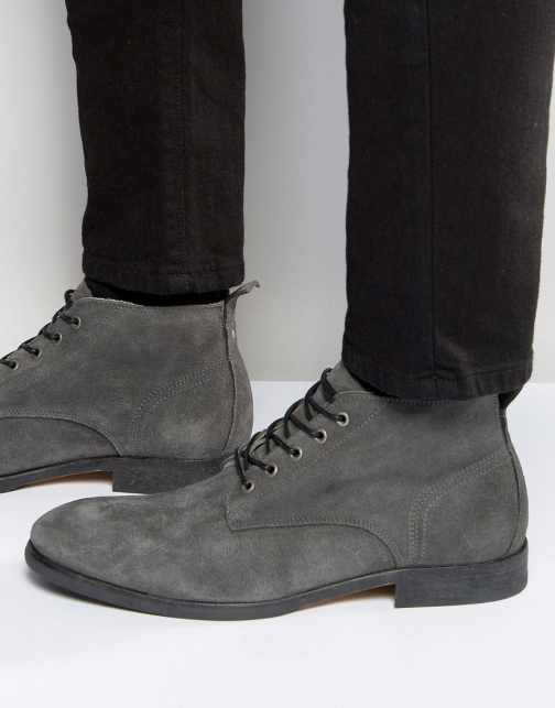 Asos Hudson London Cooke Suede Boot