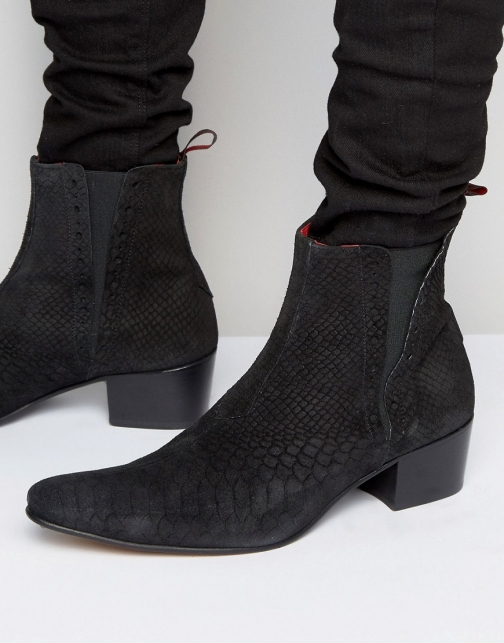 Jeffery West Murphy Suede Chelsea Boot