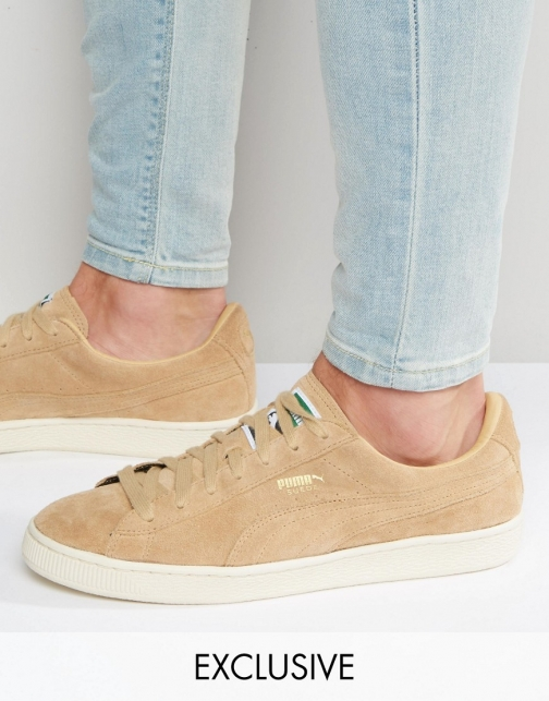 Puma Suede Classic Beige Exclusive To ASOS Trainer