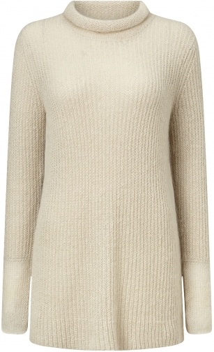 Jigsaw Sheer Mohair Sweater Sweatshirt