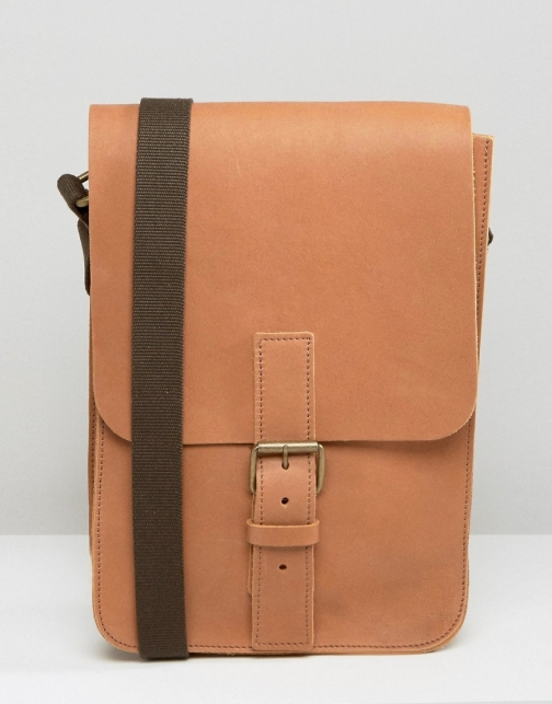 Asos Made EnglandLeather Flight Bag