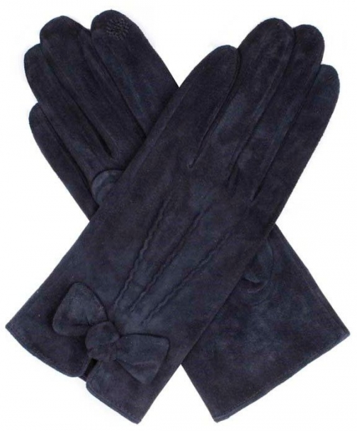 Dents Ladies Pigsuede Glove