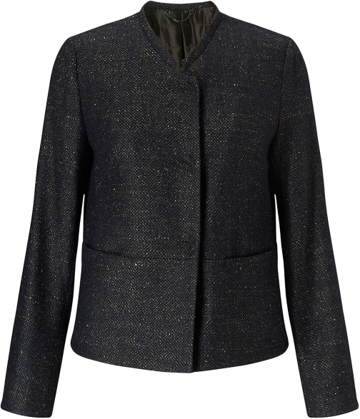 Jigsaw Pressed Tweed Box Jacket