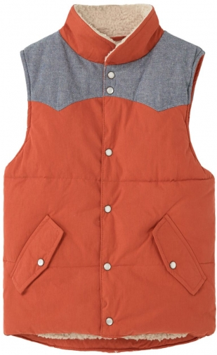 Mango Boys Paneled Quilted Gilet