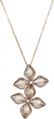 Aurora Double Flower Pendant