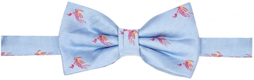 House Of Fraser Turner & Sanderson Lustleigh Conversational Silk Bow Tie