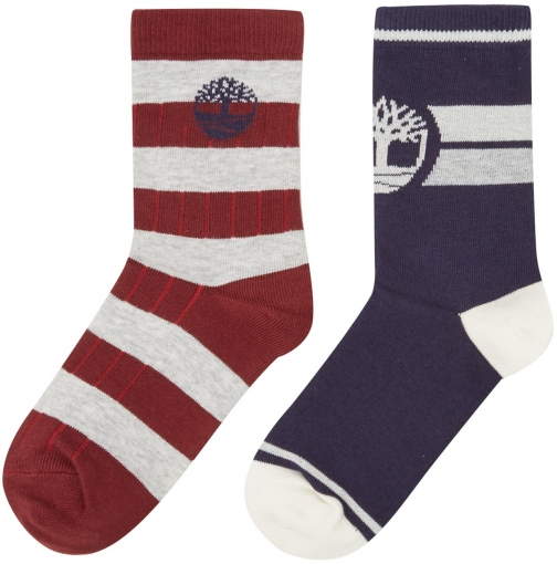 Timberland Boys Set Of Two Pair Of Sock