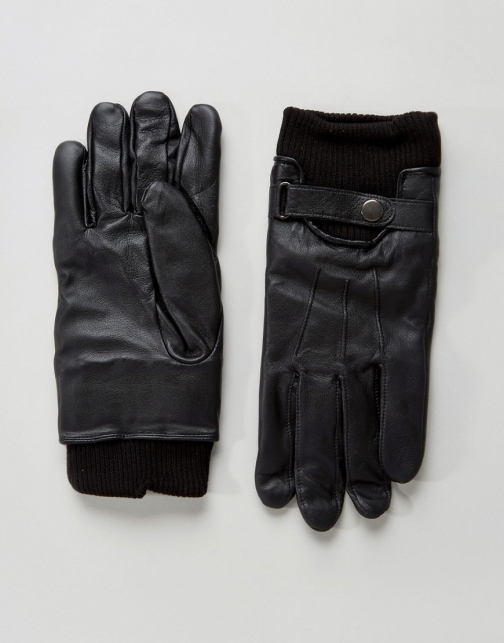 French Connection Leather Glove