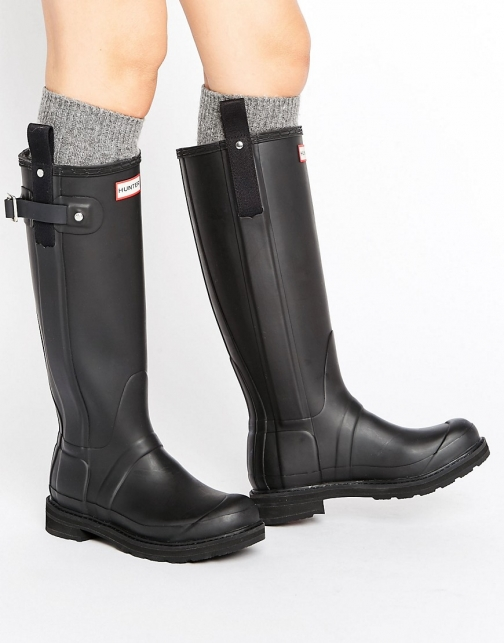 Hunter Original Tall Pulltab Lightweight Wellington Boot